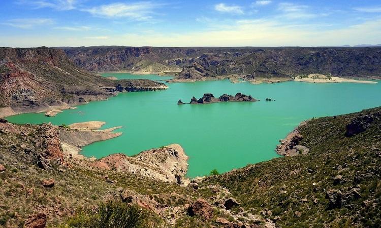 Az Atuel-kanyon és a nihuili nihil
