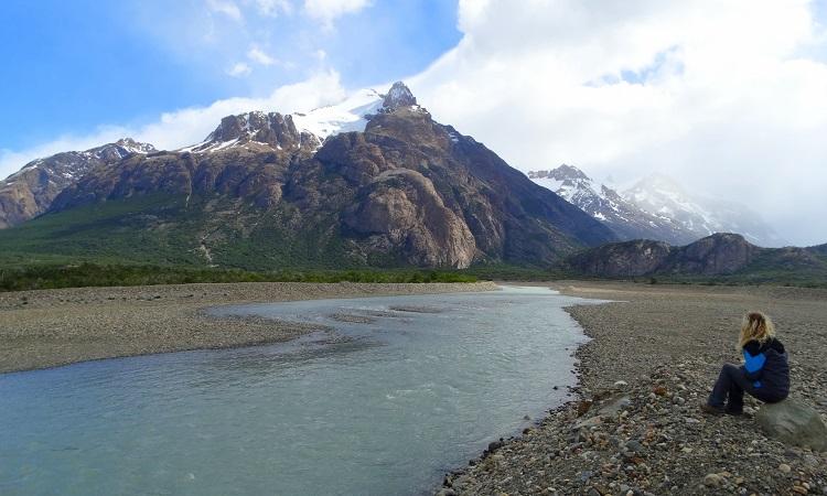 Patagónia második leghosszabb gleccsere