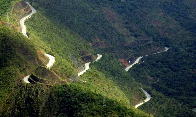 A bolíviai Halál útja egy kamu