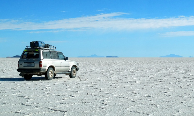 Salar de Uyuní, a Föld legnagyobb sóvidéke
