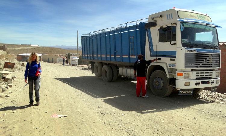 Már megint átvert minket egy kamionos