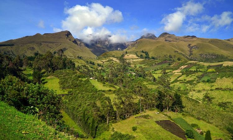 A fantasztikus Imbabura-vulkán