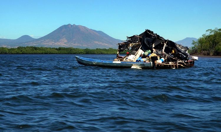 A hely El Salvadorban, ami nem nyerte el a tetszésemet