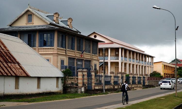 Búcsú Francia Guyanától