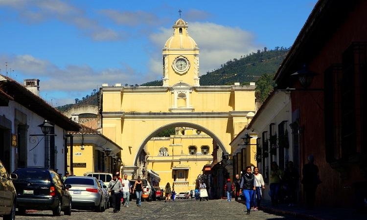 Antigua, Latin-Amerika legszebb városa