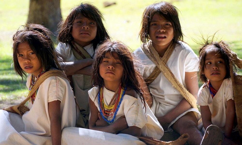 Nabusimake, az arhuacók szent faluja