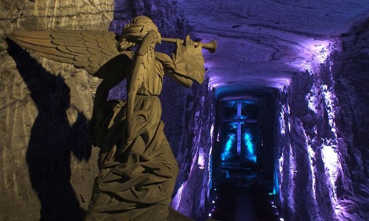 Zipaquirá, Kolumbia legnagyobb sókatedrálisa