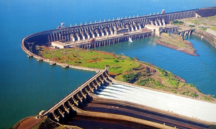 A Föld második legnagyobb vízerőműve