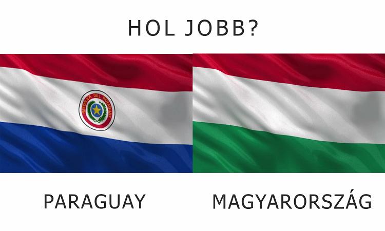 Hol jobb? - Magyarország vs. Paraguay