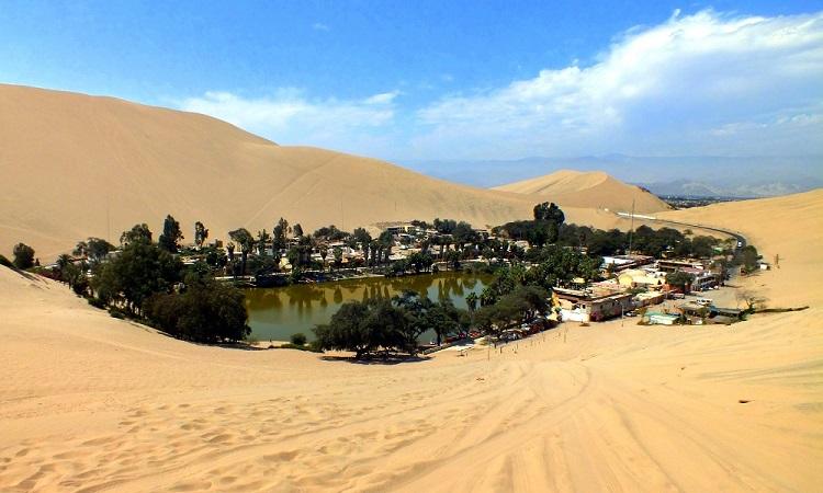 A perui sivatag csodái