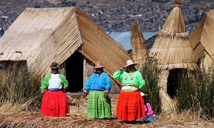A Titicaca-tó demóindiánjai