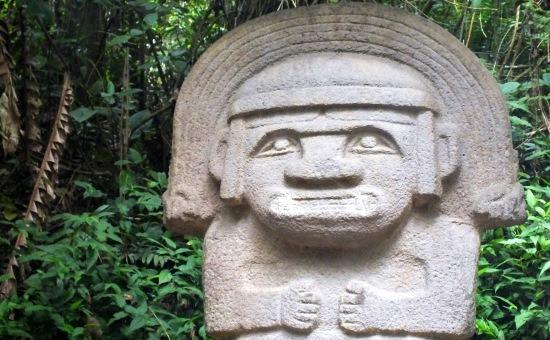 San Agustín, a prekolumbián kultúra