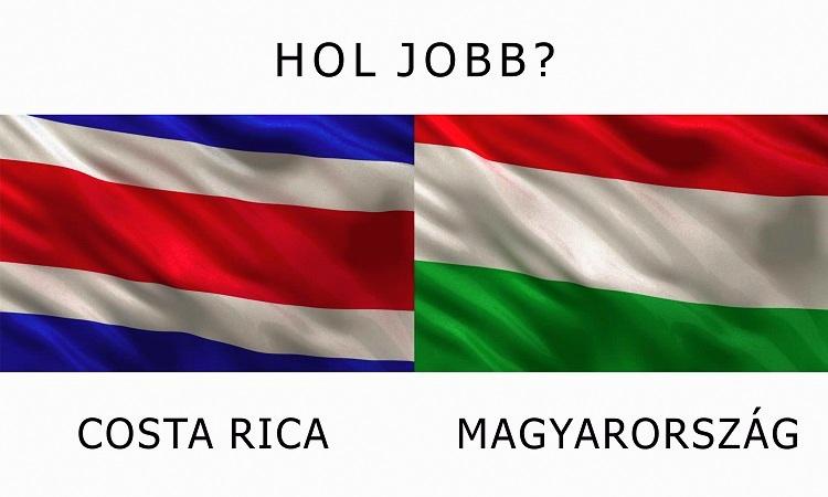 Hol jobb? - Magyarország vs.Costa Rica
