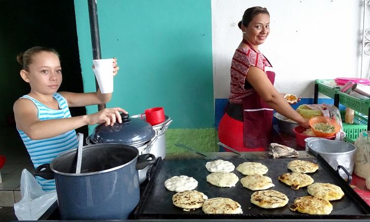 A nicaraguai és az El Salvador-i konyha