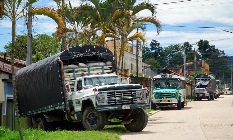 Villarica, a kolumbiai gerillamozgalmak őshazája