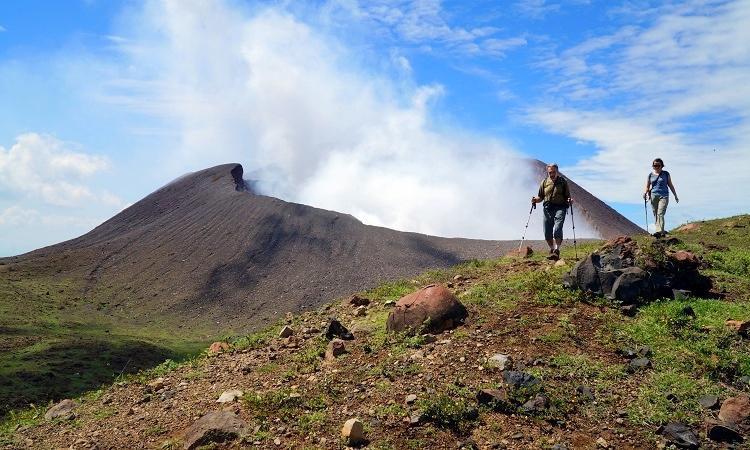 Kínszenvedés a Telica-vulkánon